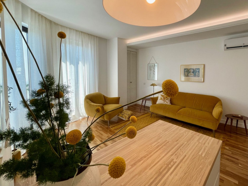 Remarcabil apartament modern de 2 camere intr-o cladire simbol a Bucurestiului